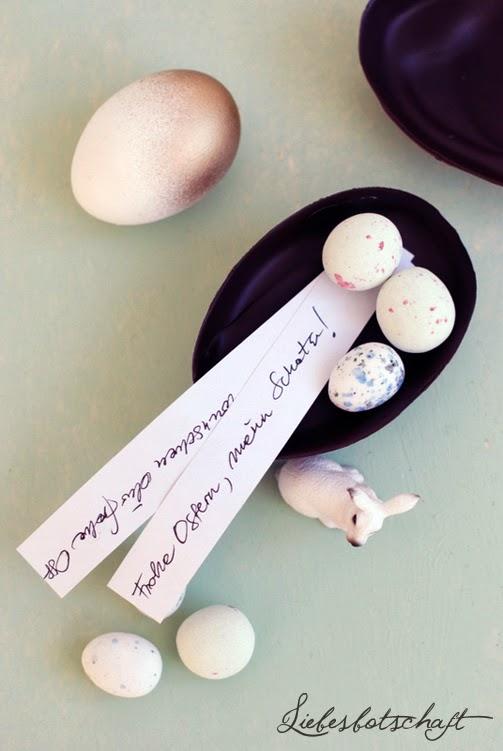 Osterideen: Ü-Eier und Eier im Ombrelook – DIY! – Liebesbotschaft Blog