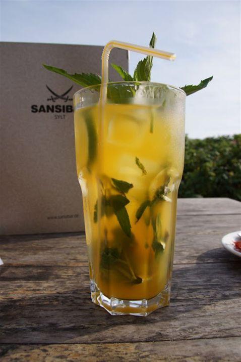 Sansibar-Tipp 2: Frischer Minz-Eistee