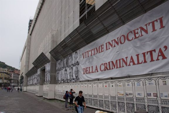 Neapels Kriminalitäts-Opfer