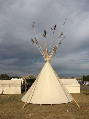 Tipi Crow Fair