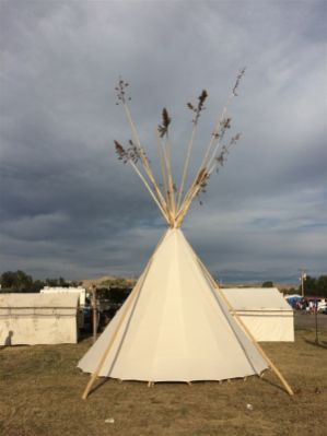 Tipi Crow Fair