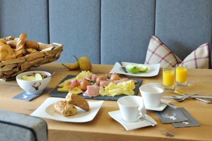 Frühstück im Sunnsait
