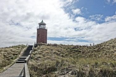Kleiner Leuchtturm in Kampen