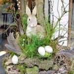 Wonderful Easter Decoration At Blumen Bergine Lieblingsstil