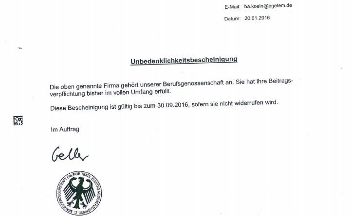 thumbnail of Liefner_Haustechnik_GmbH_Unbedenklichkeitsbescheinigung_Berufsgenossenschaft