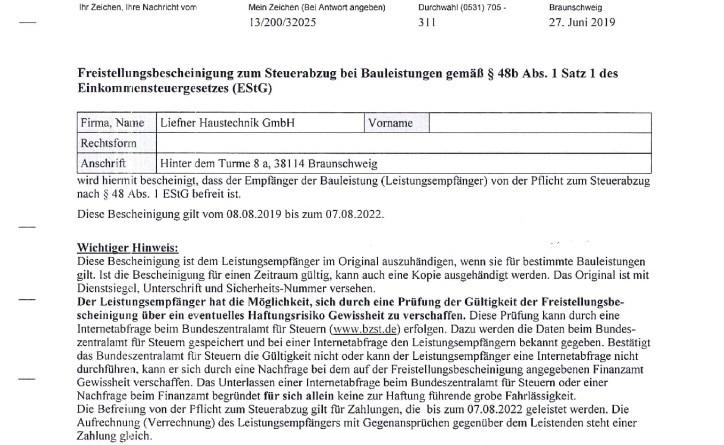 thumbnail of Liefner_Haustechnik_GmbH_Nachweis_Steuerschuldnerschaft_2019-2022