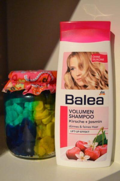 balea shampoo, balea volumen shampoo kirsche + jasmin