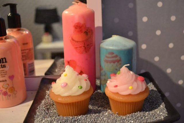 printed candles
