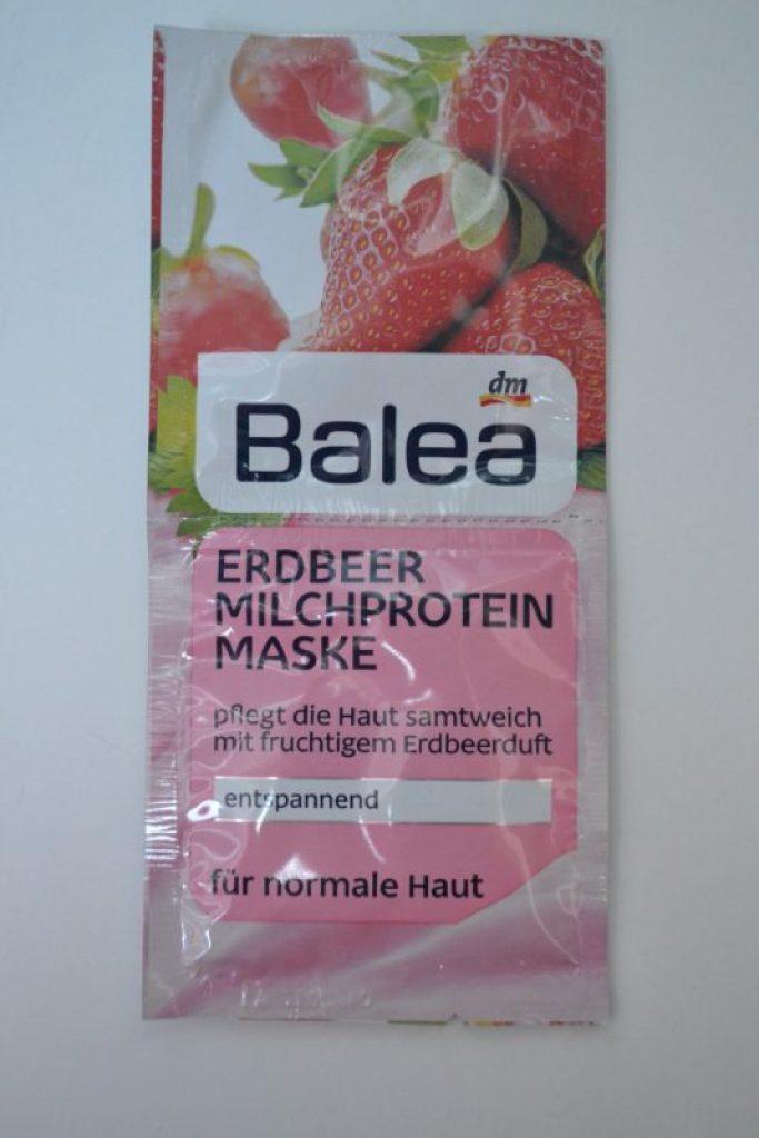 balea masker aardbei