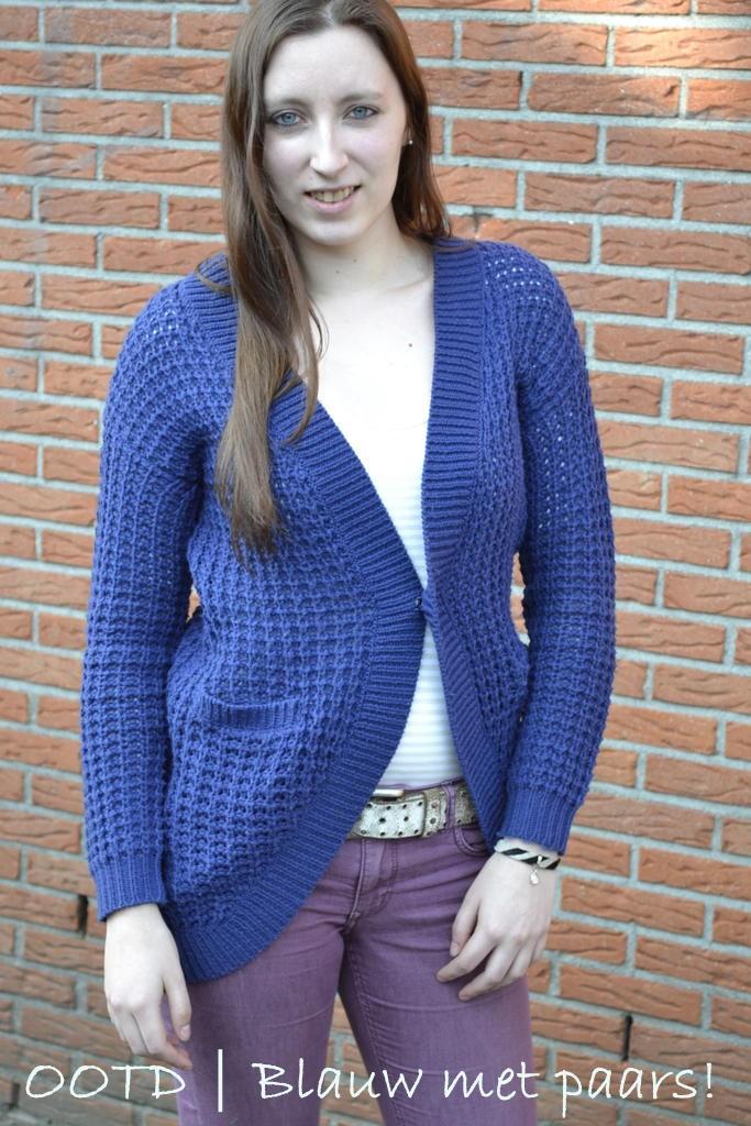 blauw en paars