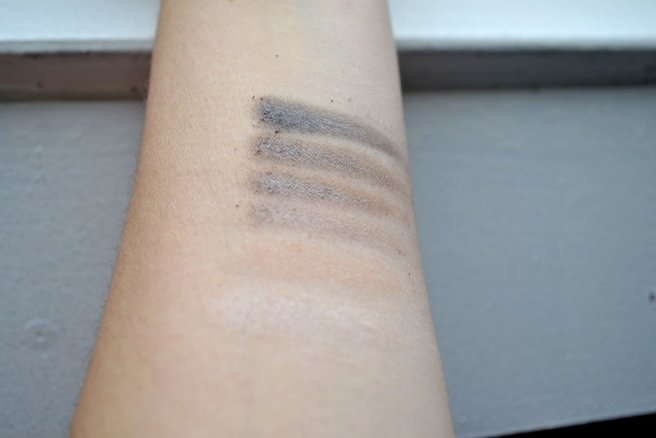 Swatches w7 in the city