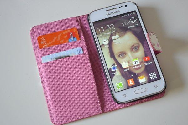 Mobiel hoesje roze
