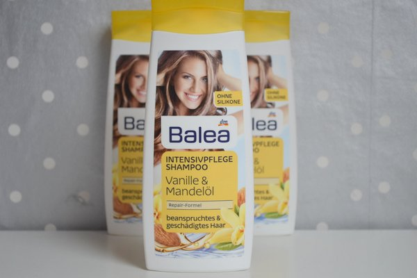 balea vanille mandelol shampoo