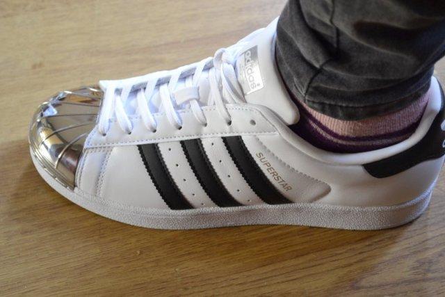 Adidas Originals Superstar metal toe