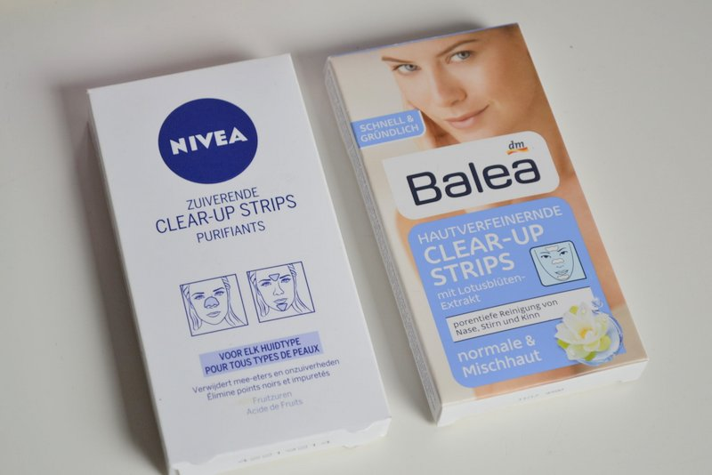 Nivea vs Balea clear up strips