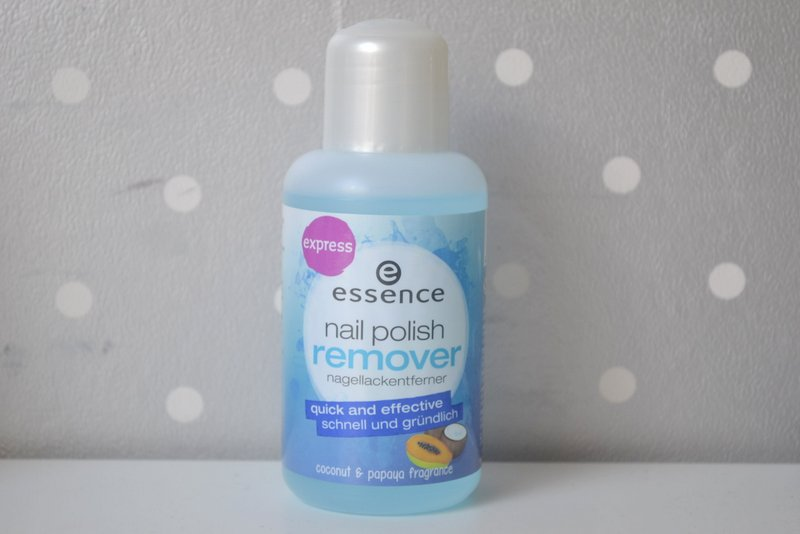 Essence nail polish remover