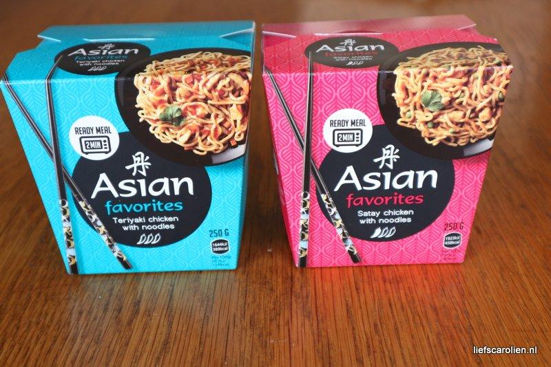 Asian noodles – Kant en klaar maar toch erg lekker!