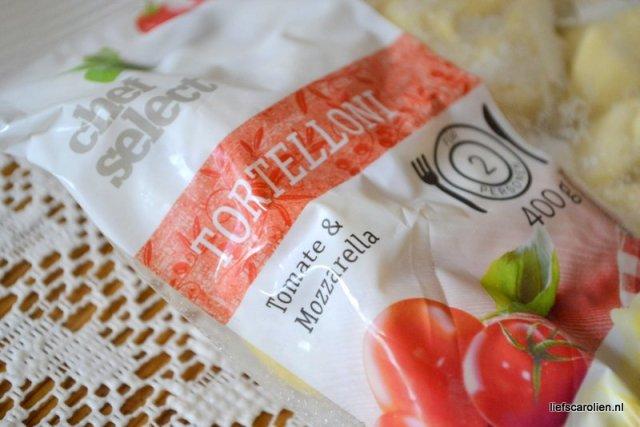 tortelloni tomaat mozzerella