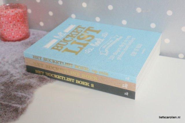 Het bucketlist boek