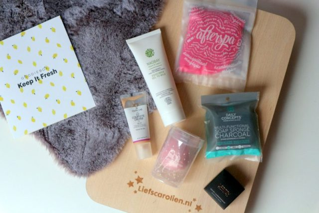 Goodiebox januari, keep it fresh, goodiebox