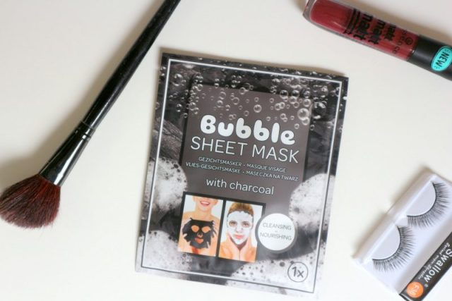 bubble sheet mask, action, bubbel gezichtsmasker