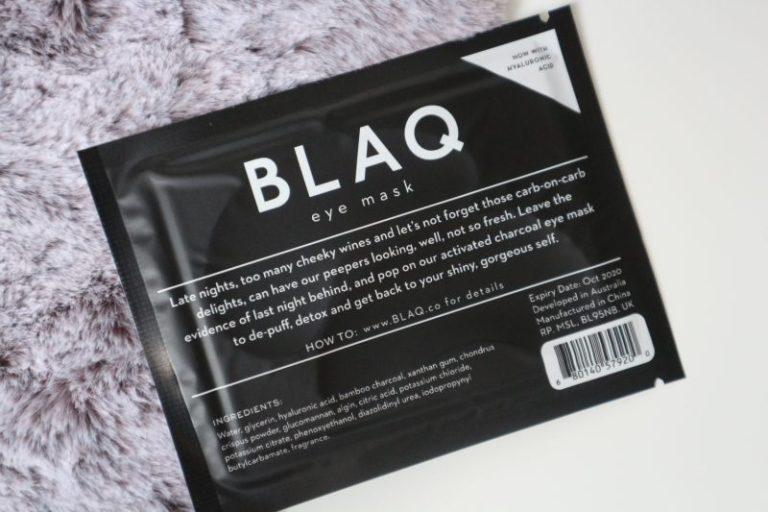 blaq, Hyalyronic acid eye mask