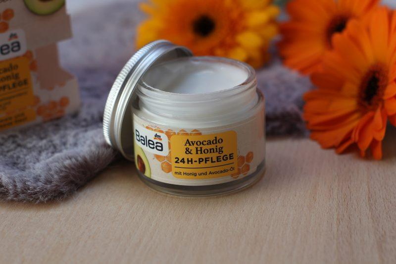 Avocado en honing 24- uurs gezicht crème