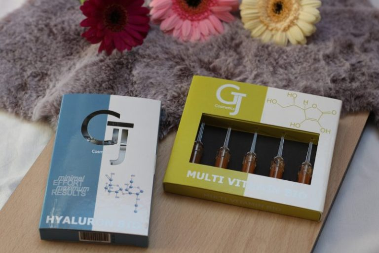 Qbeauty GJ cosmetics gezichtsampullen