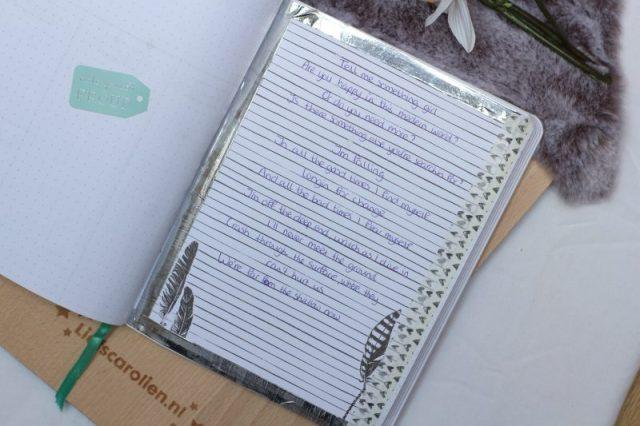 inspiratie pagina, bullet journal, plan with me