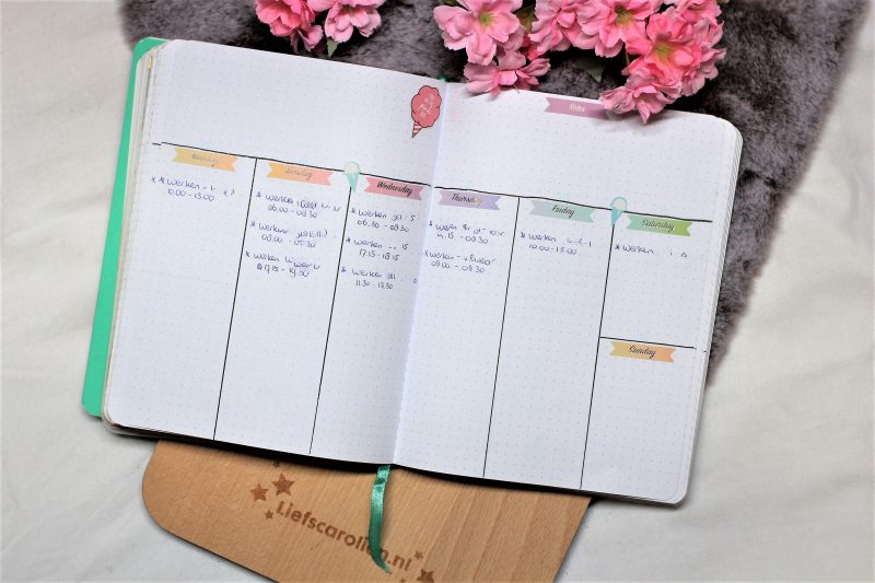weekplanning juli 2019
