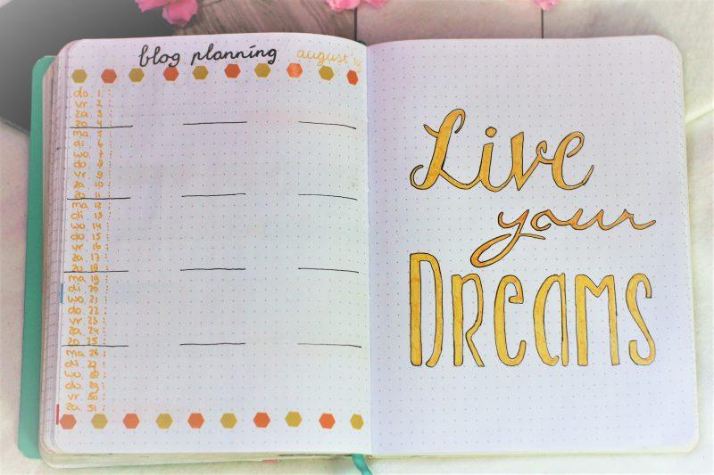 blogplanning augustus 2019