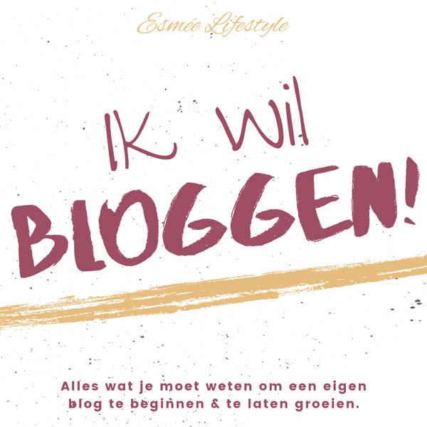 ik wil bloggen