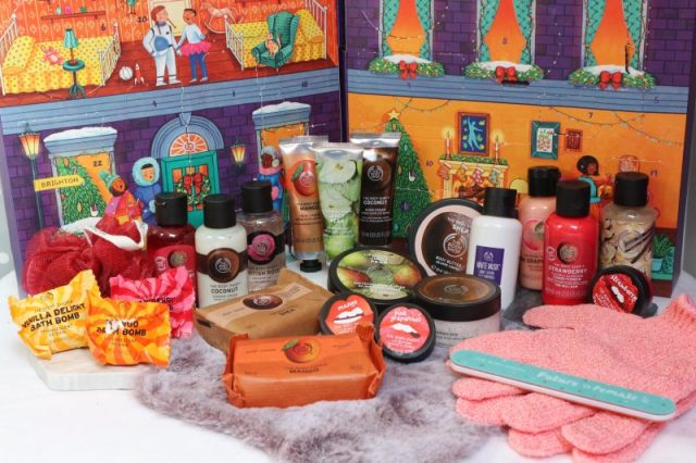 adventskalender the body shop