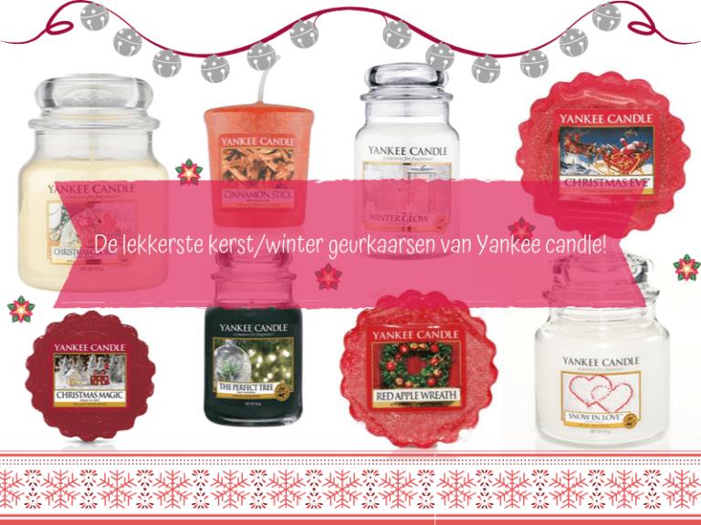 de lekkerste winter kerst geurkaarsen van yankee candle