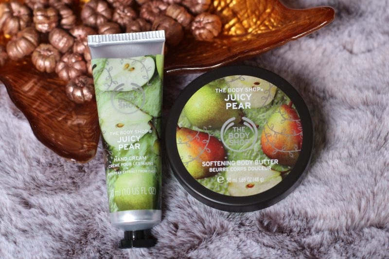 The body shop | Juicy pear – body butter en hand cream