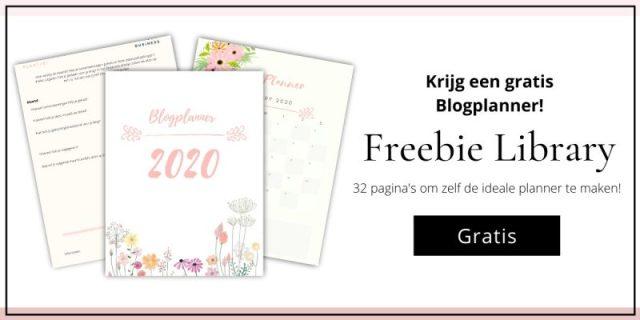 freebie blogplanner