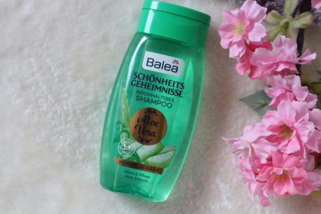 Balea schonheits geheimnisse Reichhaltiges shampoo aloe Vera