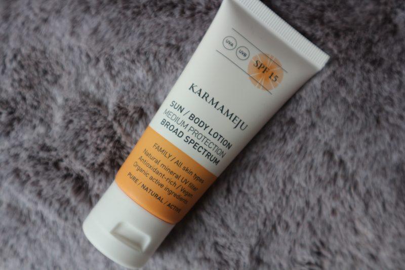 Karmameju Sun body lotion SPF 15