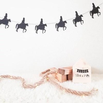 Sinterklaasslinger decoratie