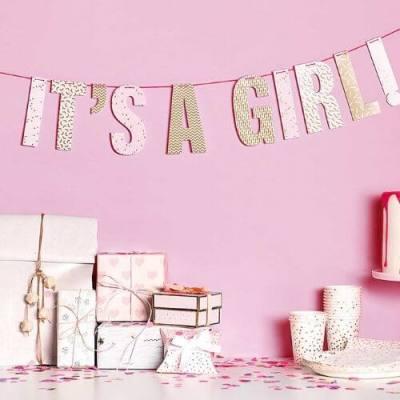 Slinger meisje geboren its a girl