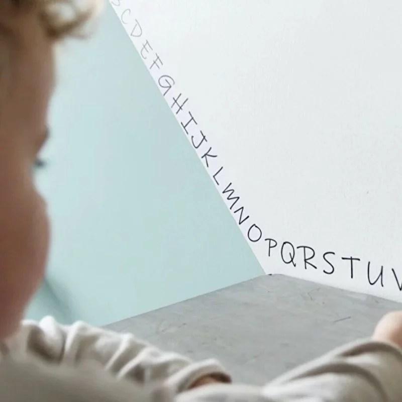 Letters muurstickers