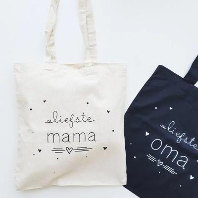 Tas voor de liefste mama en oma