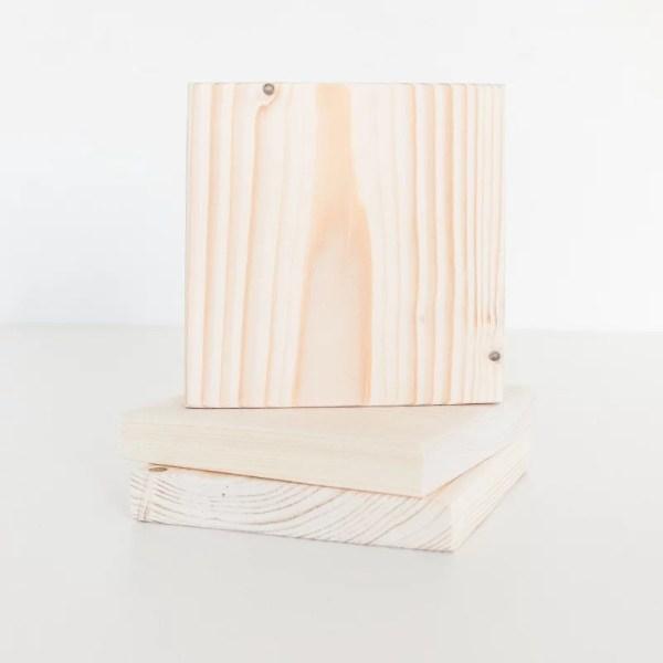 Houten plankjes blanco