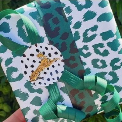 inpakpapier panterprint