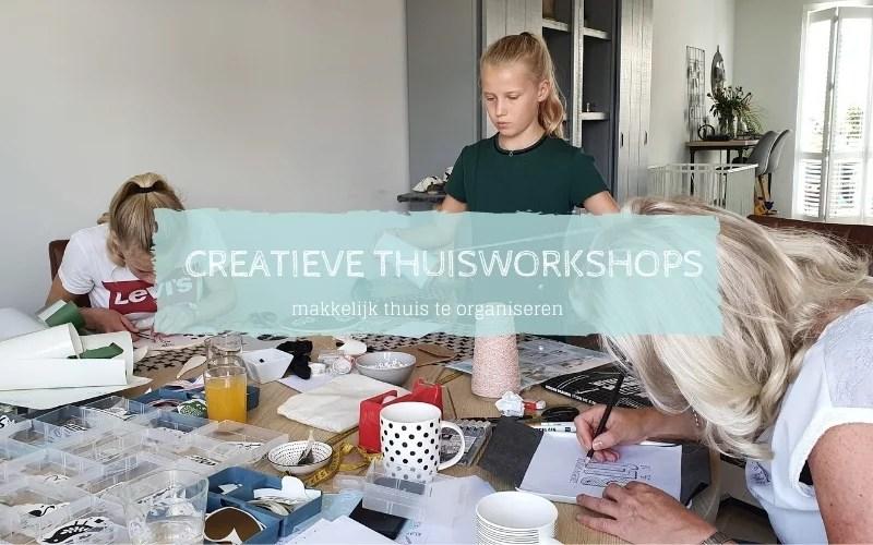 creatieve workshop middag organiseren
