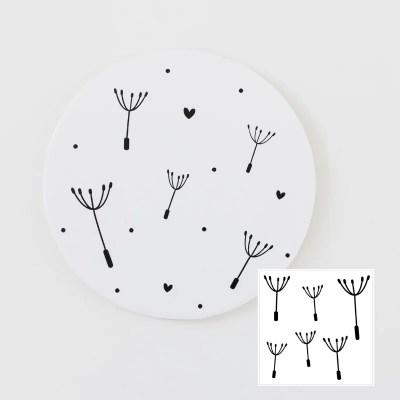 Paardenbloem pluisjes stickers