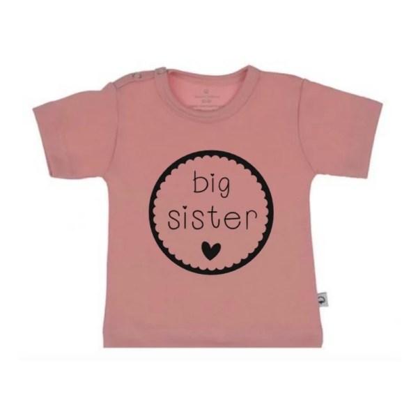 Big sister cirkel shirt