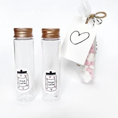 Flesje potje liefde