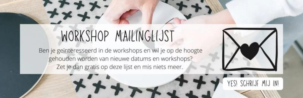 Nieuwsbrief workshop