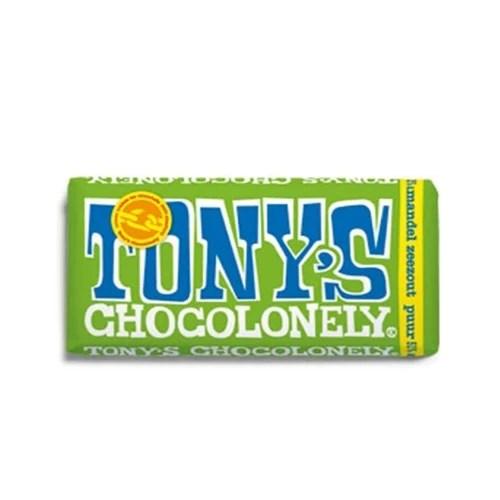 Tony's Chocolonely Puur Amandel Zeezout Reep
